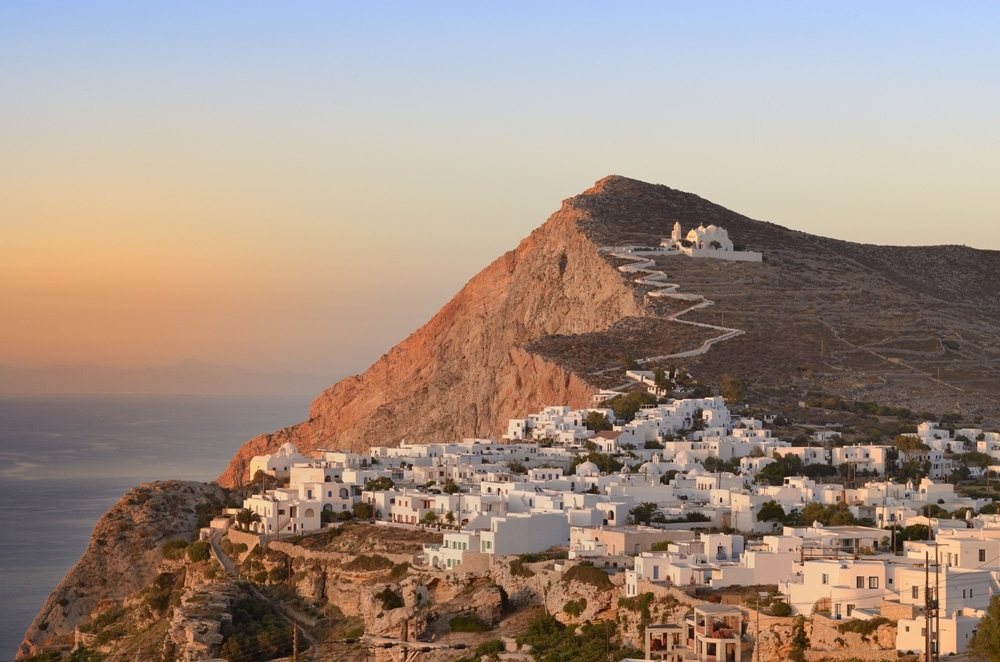 Off-Grid Islands in the Cyclades