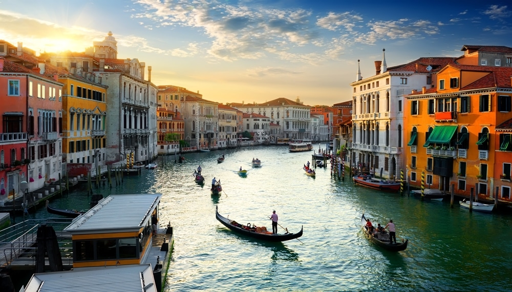The Grand Canal of Venice, Italy