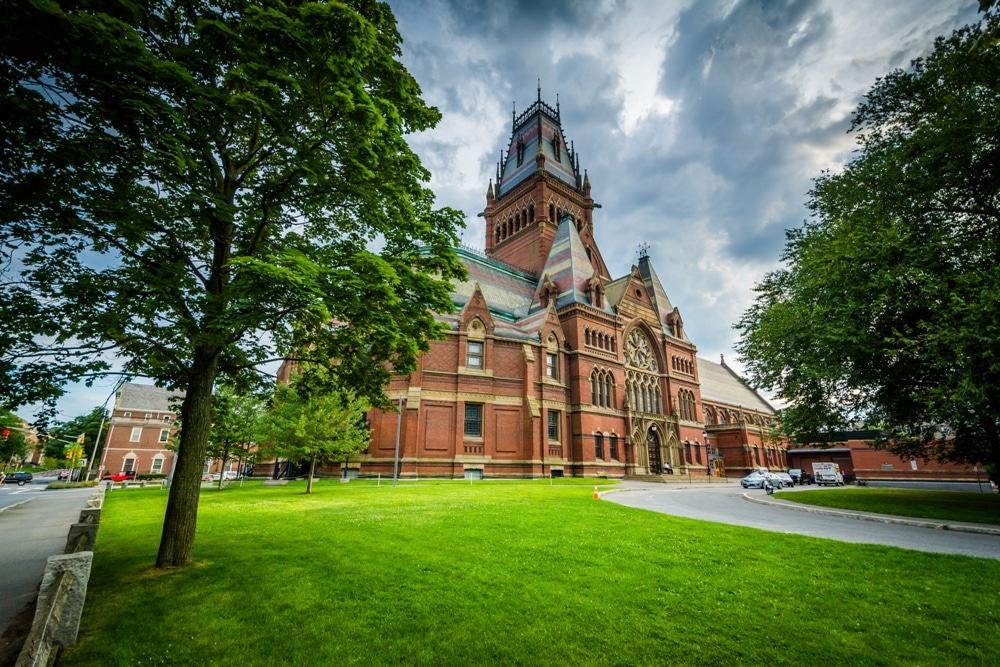 Peabody Museum of Harvard University in Cambridge, Massachusetts